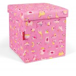 Reisenthel Sitbox Abc Friends Pink - Opbevaringskasse