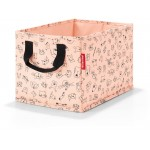 Reisenthel Storagebox Kids Cats And Dogs Rose - Opbevaringskasse