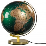 Wild & Wolf - Globe Light Green & Brass