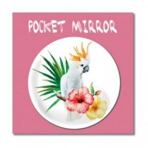 Billede af Customworks Pocket Mirror Parrot - Spejl