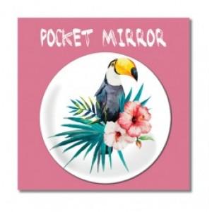 Billede af Customworks Pocket Mirror Toucan - Spejl