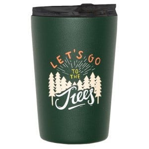 Roadtyping Insulated Tumbler Stål Krus - Let's Go To The Trees