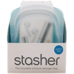 Stasher Pocket Size 118 ml silikone opbevaring - 2-pak